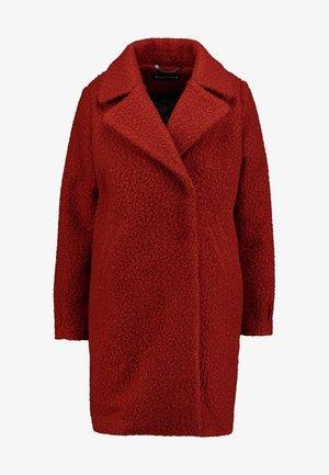 JANTIEN - Płaszcz wełniany /Płaszcz klasyczny - rotbraun