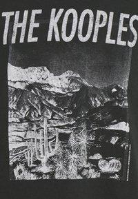 The Kooples - Printtipaita - black washed - 6