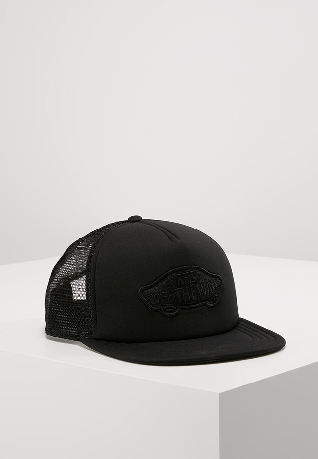 CLASSIC PATCH TRUCKER - Cap - black