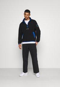 adidas Originals - ADIDAS ADVENTURE POLAR FLEECE HALF-ZIP SWEATSHIRT - Forro polar - black - 1
