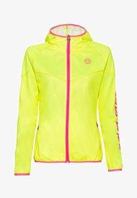 BIDI BADU - INGA TECH JACKET - Training jacket - neon yellow/pink - 0