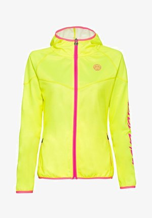 INGA TECH JACKET - Training jacket - neon yellow/pink