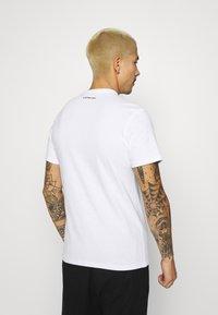 G-Star - BADGE LOGO - T-shirt med print - white - 2