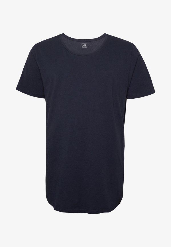 Lee SHAPED TEE - T-shirt basic - sky captain/granatowy Odzież Męska JNJI
