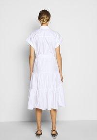 Lauren Ralph Lauren - BROADCLOTH DRESS - Košilové šaty - white - 2