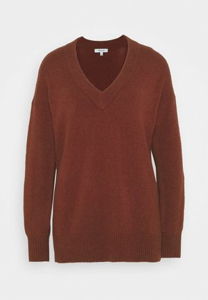 JASON EX BOYFRIEND SWEATER - Jumper - burnished mahogany
