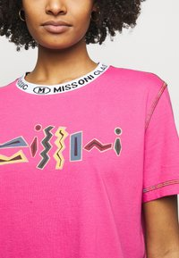 M Missoni - Print T-shirt - pink - 4