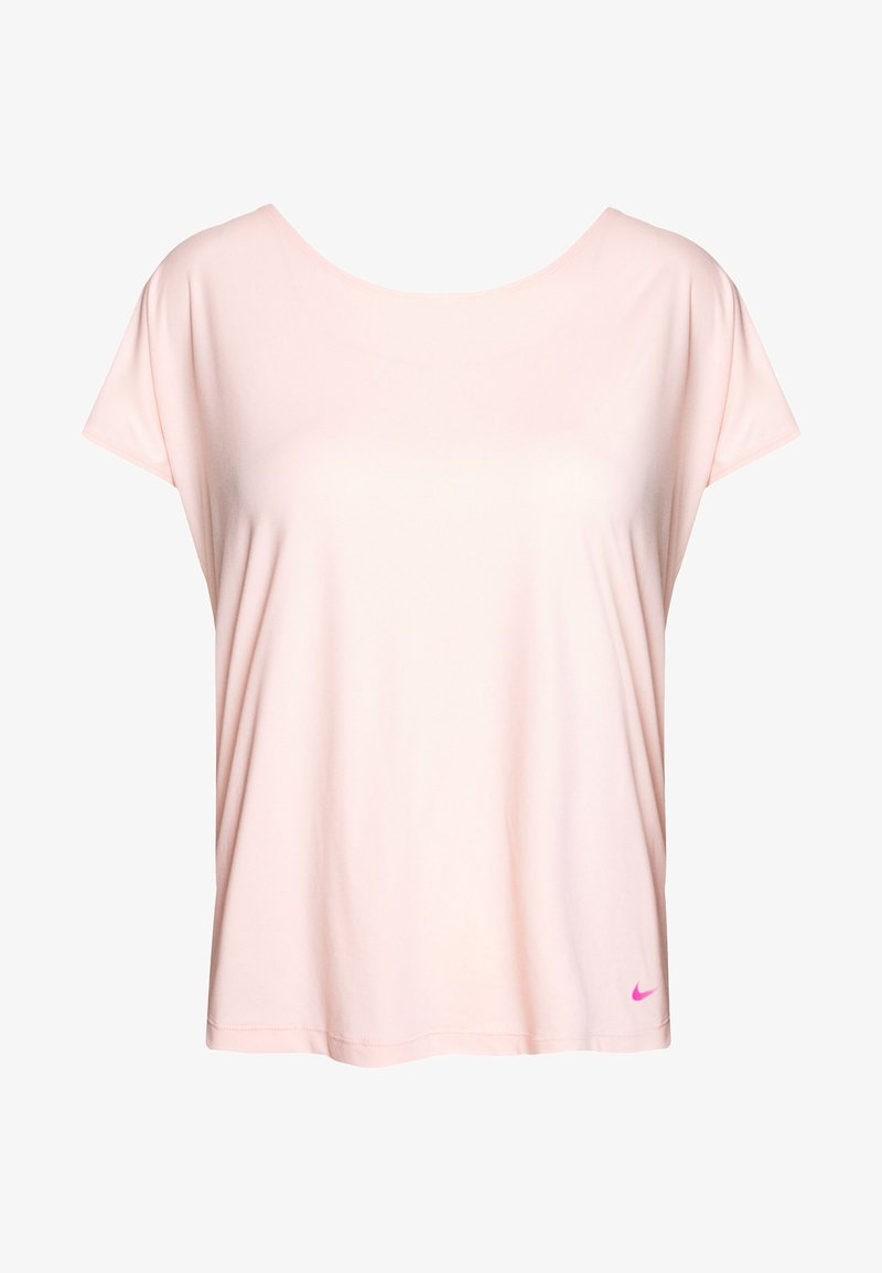 Nike Performance - DRY ELASTIKA - Camiseta de deporte - washed coral/fire pink