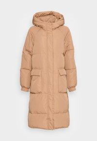 CRISTEL COAT - Down coat - tannin