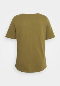 Simply Be - UTILITY - Basic T-shirt - olive - 1