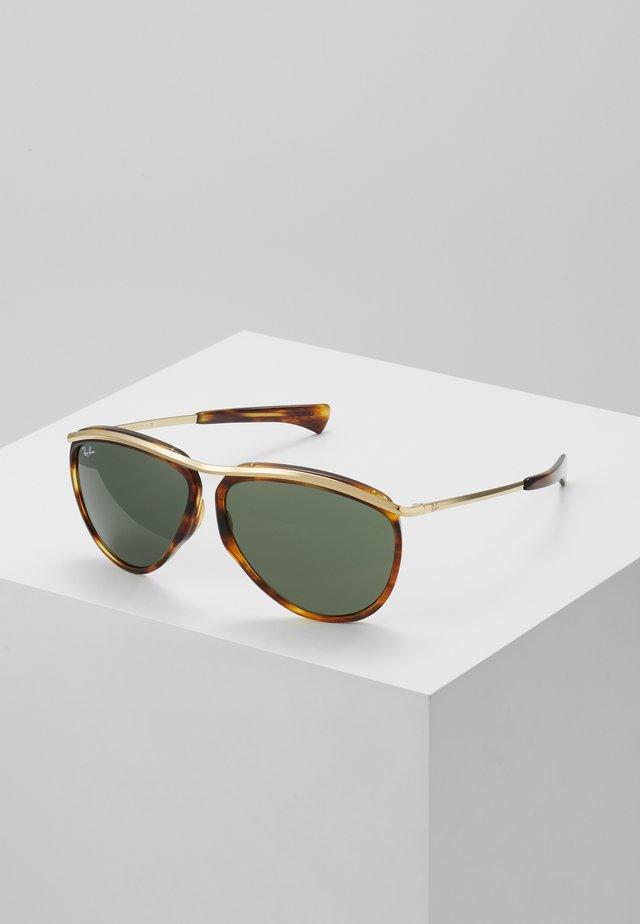 Solbriller - brown/green