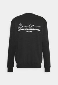 Mennace - UNISEX ESSENTIAL REGULAR - Zip-up sweatshirt - black - 1