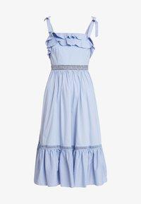 By Malina - JEANNI DRESS - Hverdagskjoler - ocean blue - 5