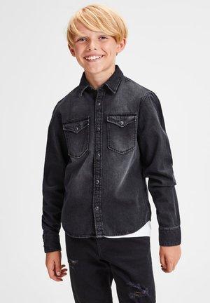 Shirt - black denim 2