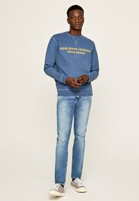Pepe Jeans - HATCH - Straight leg jeans - blue denim - 1