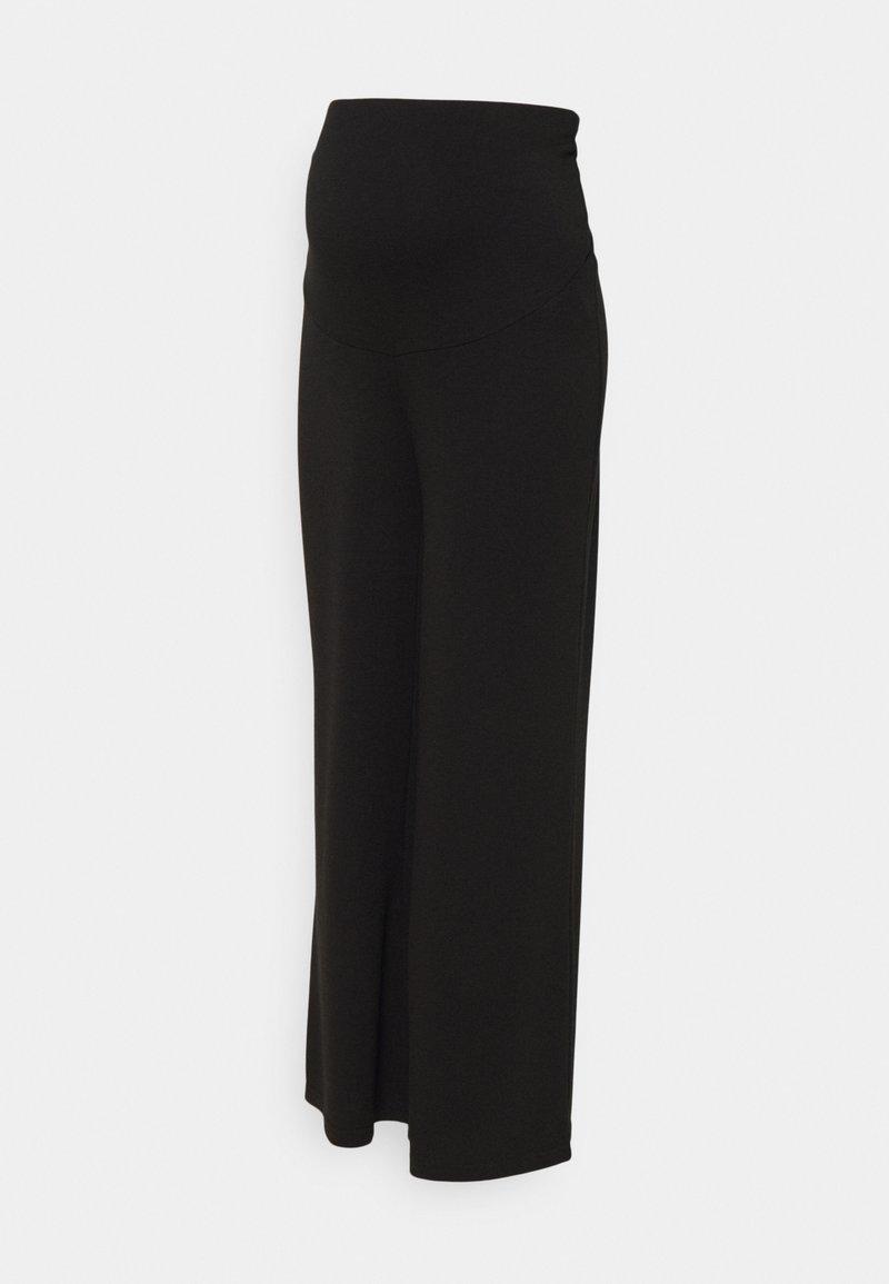 Anna Field MAMA - Trousers - black