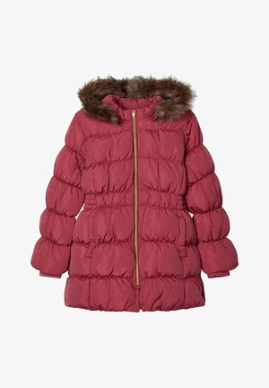 NKFMOLLY JACKET - Down coat - rose wine