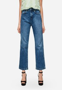 Pepe Jeans - DUA LIPA X PEPE JEANS  - Jeansy Straight Leg - blue denim - 0