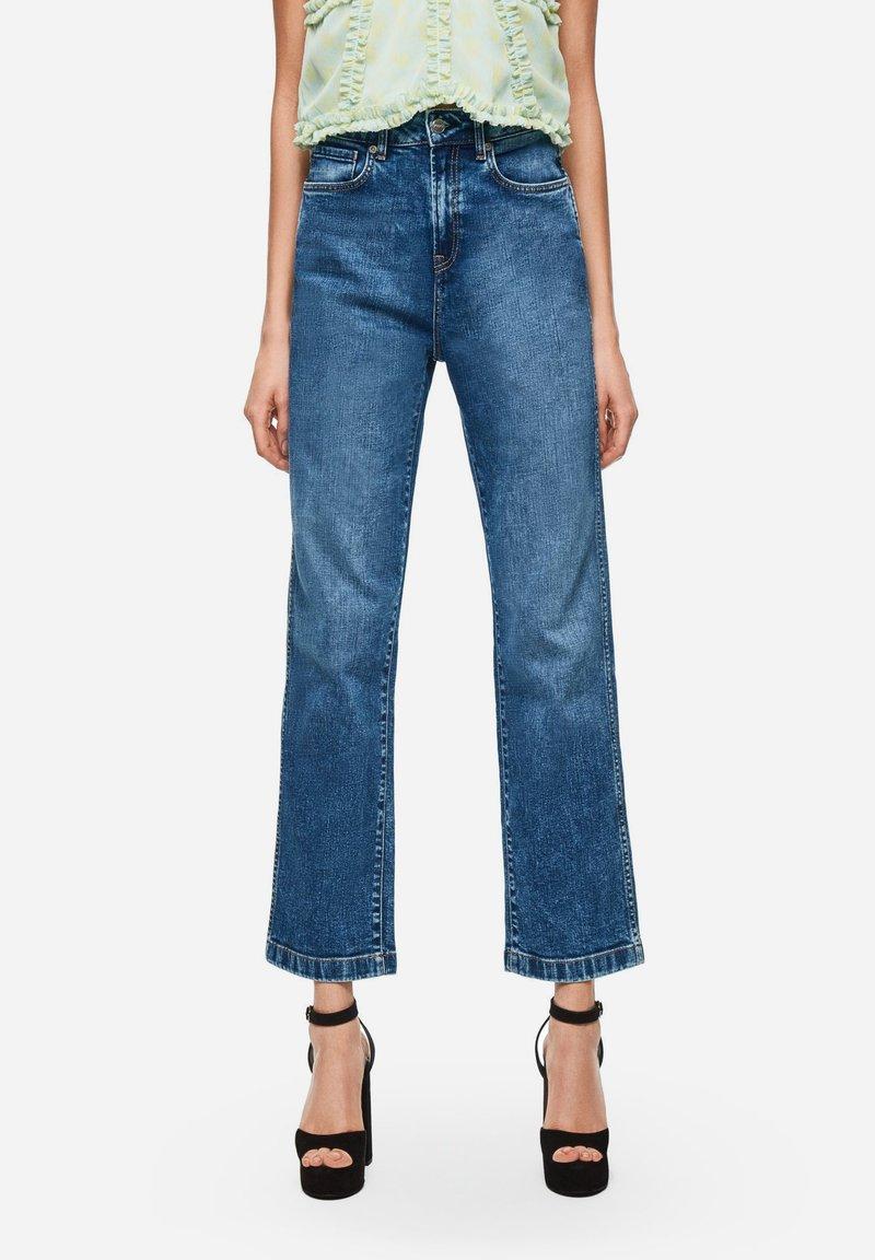 Pepe Jeans - DUA LIPA X PEPE JEANS  - Jeansy Straight Leg - blue denim