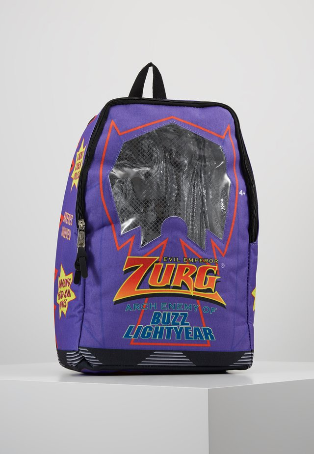 BACKPACK ZURG BOX - Rucksack - purple/multi