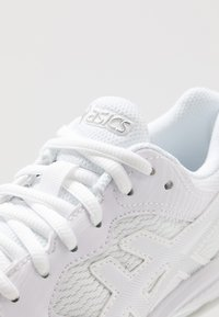 ASICS - GEL-DEDICATE 6 - Multicourt tennis shoes - white/silver - 5