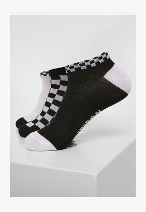 Socks - black    white