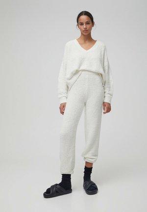 Pyjama bottoms - beige