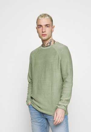 ONSDEXTOR LIFE  - Stickad tröja - hedge green