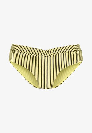 RETRO V FRONT - Bikini bottoms - lime light
