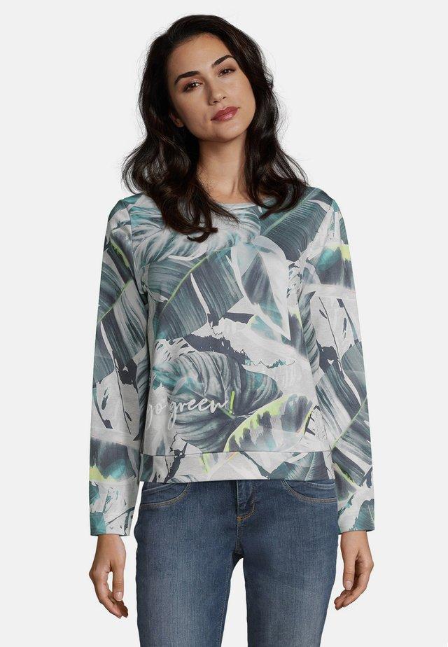 Sweatshirt - Grey/Green