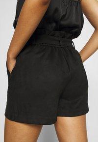 Vero Moda - VMSUMMER SABINA - Shorts - black - 3