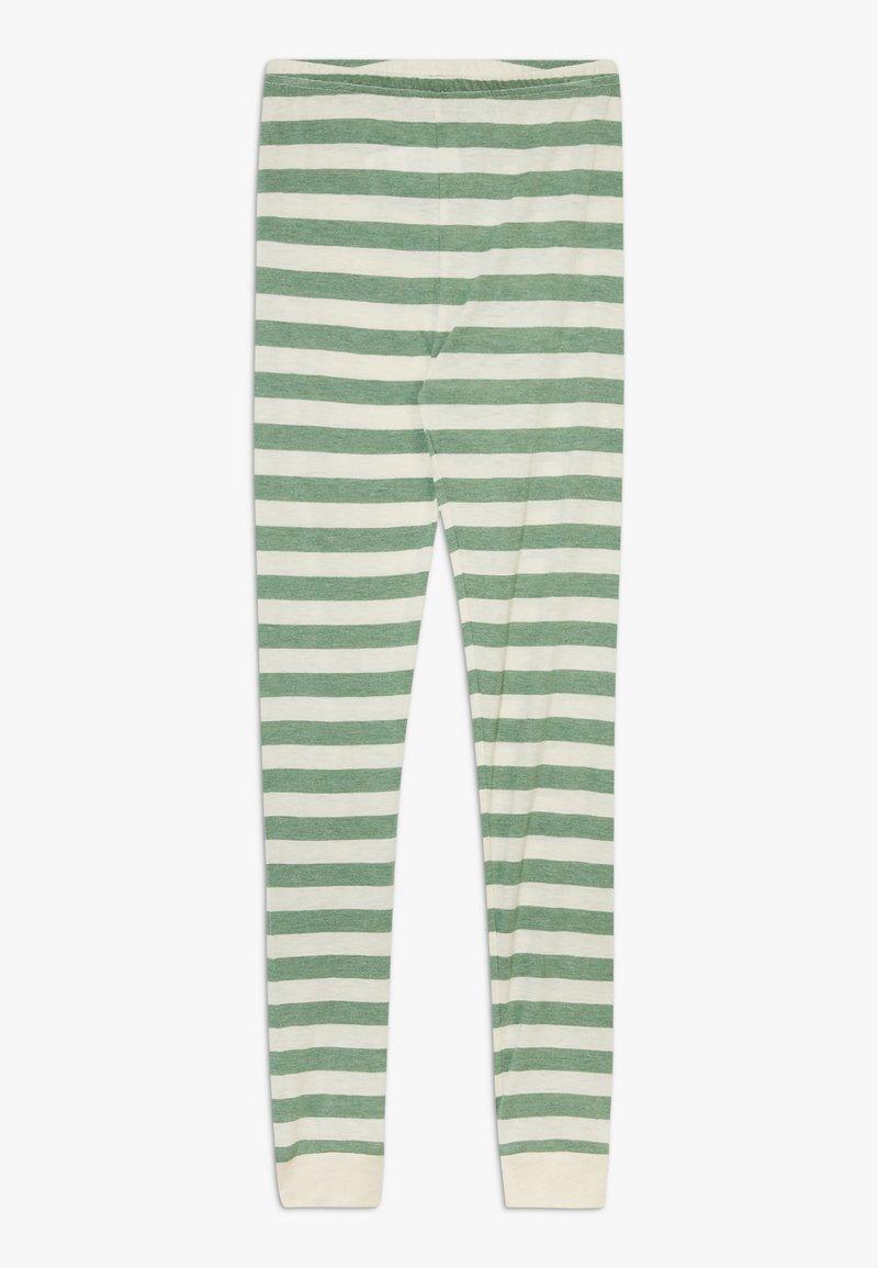 CeLaVi - BAMBOO STRIPE - Leggings - Trousers - elm green