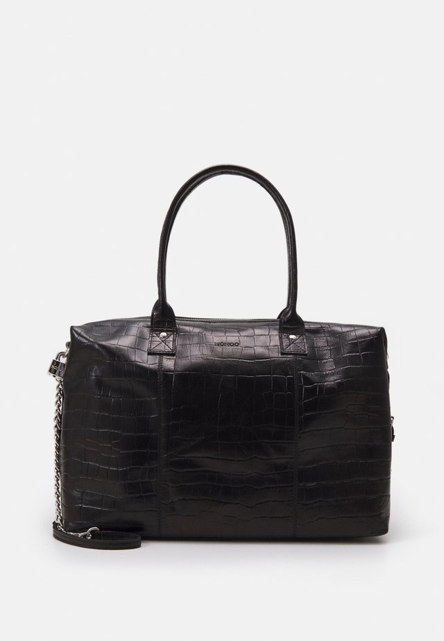 BOBBY - Shopping bag - black