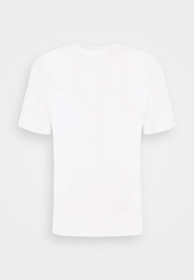ACE MOCK NECK - T-Shirt basic - white