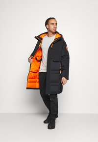 adidas Performance - MYSHELTER URBAN COLD RDY OUTDOOR JACKET - Dunjakker - black/orange - 1