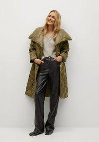 Mango - CROCO - Winter coat - khaki - 1