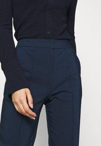 Who What Wear - Pantalon classique - navy - 4