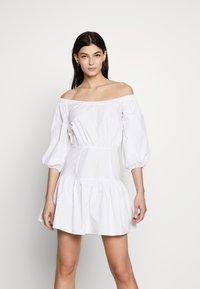 Guess - OTTAVIA DRESS - Day dress - blanc pur - 0