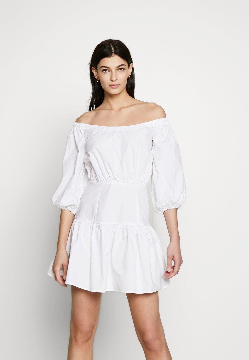 Guess - OTTAVIA DRESS - Day dress - blanc pur