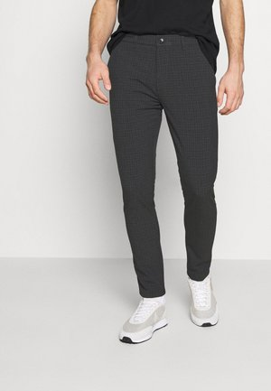 UGGE - Trousers - grey melange