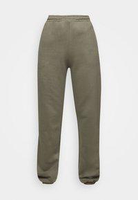 PINE COSWE - Trousers - light dust green