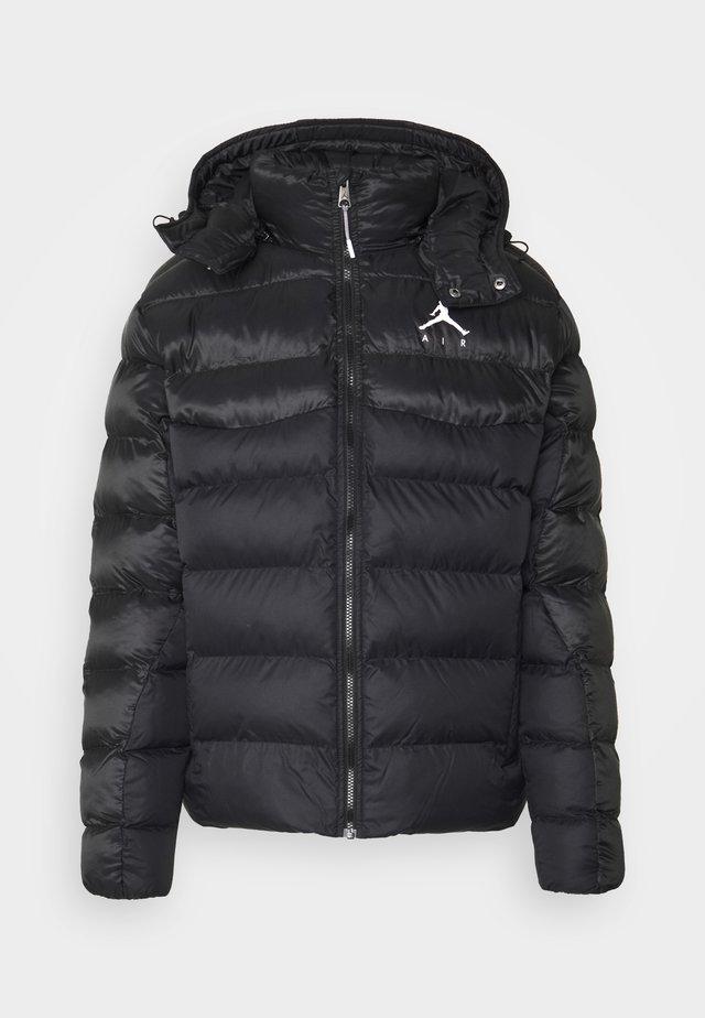 JUMPMAN AIR PUFFER - Vinterjacka - black/white