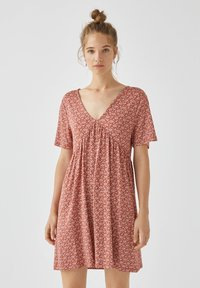 PULL&BEAR - Day dress - light brown - 0