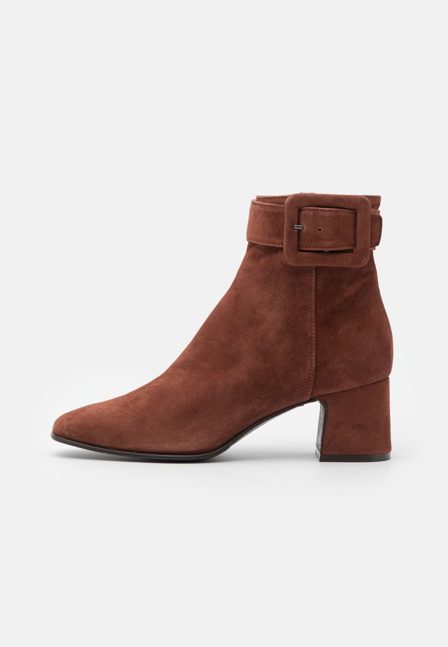 Bottines - cygar brown
