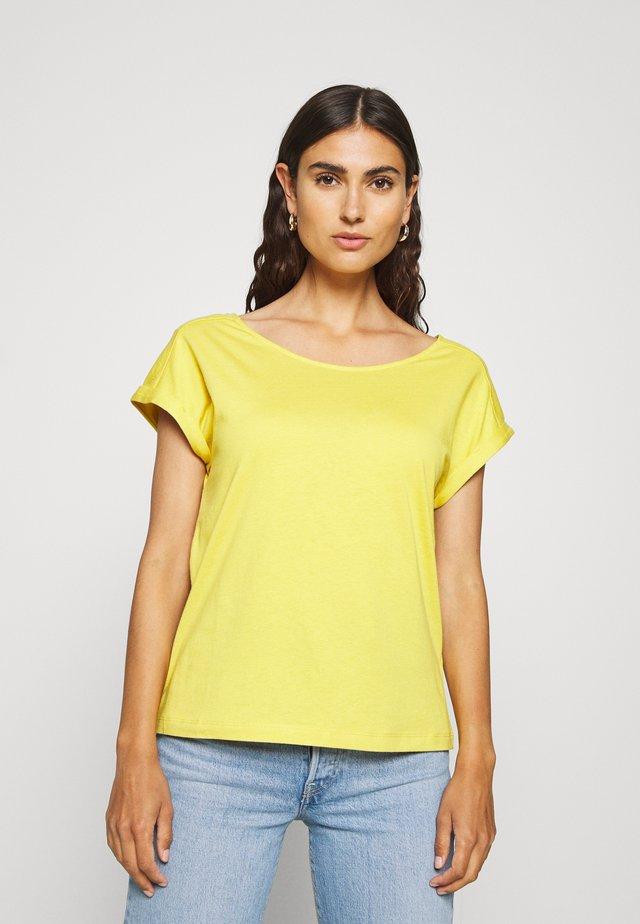 KURZARM - T-shirts basic - goldgelb