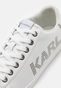 KARL LAGERFELD - KUPSOLE PUNKT LOGO  - Trainers - white/silver - 4