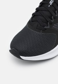 Nike Performance - DOWNSHIFTER 11 - Neutral running shoes - black/white/dark smoke grey - 5