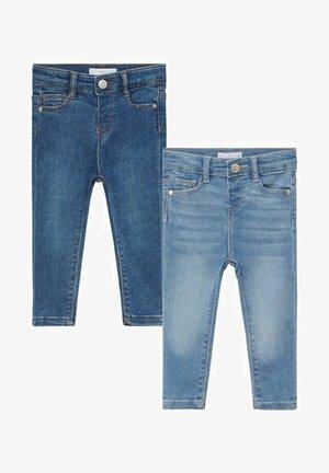 PACK 2 - Slim fit jeans - bleu clair