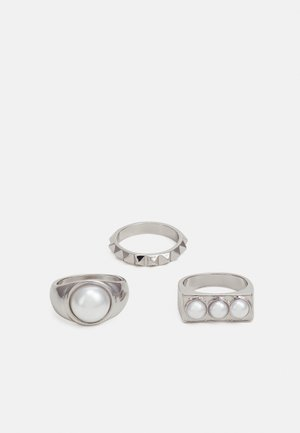 SET - Ring - silver-coloured