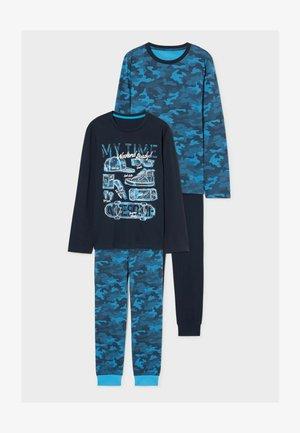 2 PACK - Pyjama set - dark blue